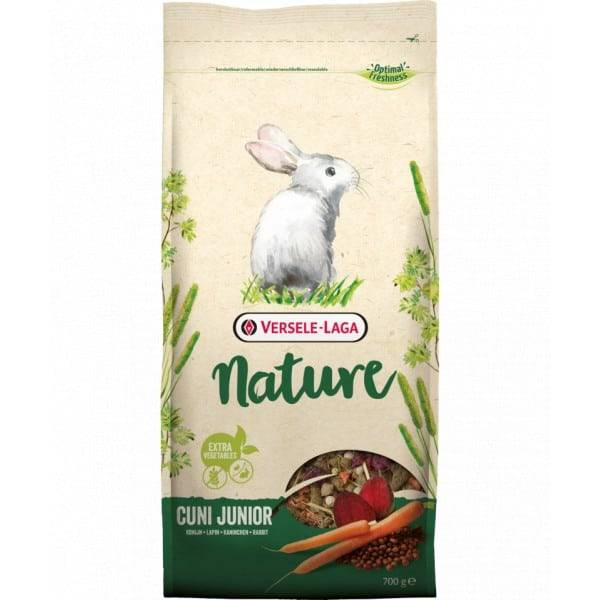 VERSELE LAGA CUNI NATURE JUNIOR - 700g