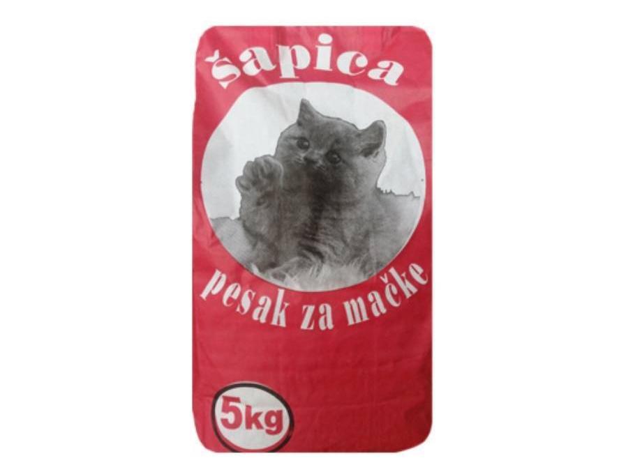ŠAPICA - posip za mačke 5kg