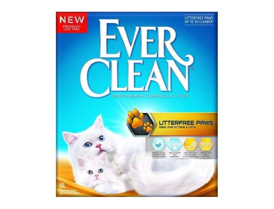 EVER CLEAN Posip za mačke Litterfree Paws, s mirisom, grudvajući