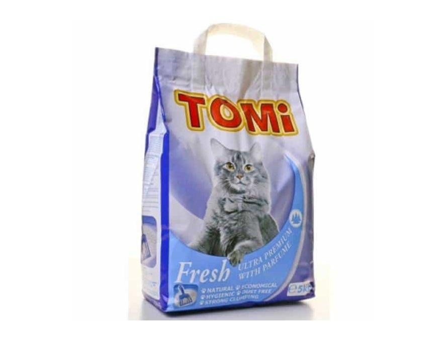 TOMI ULTRA PREMIUM FRESH - posip za mačke 5kg