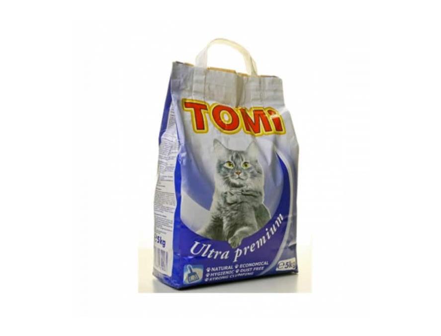 TOMI ULTRA PREMIUM - posip za mačke 5kg